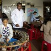 Pin Peat Class in Phnom Penh, Cambodia - Commission for Cambodian Living Arts - Charity work (2013) © Aga Cebula