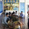 Funeral Music Class in Cambodia - Commission for Cambodian Living Arts - Charity work (2013) © Aga Cebula
